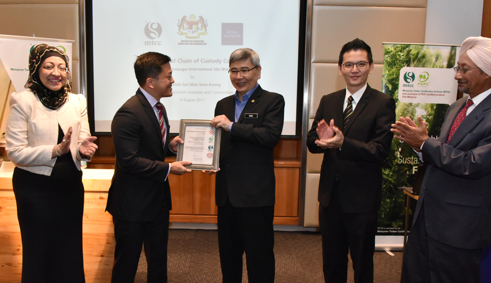 Royal Selangor Obtains MTCS Certification