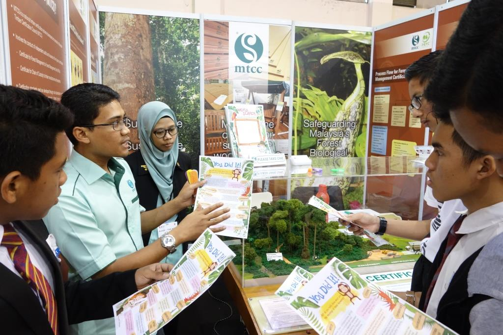 MTCC INSTILS AWARENESS ON SUSTAINABLE FORESTRY AMONG SCHOOL CHILDREN