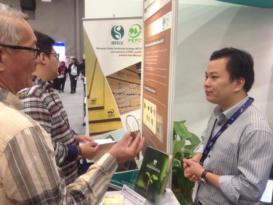 MTCC PROMOTES MTCS-CERTIFIED TIMBER AT SMIDEX 2017