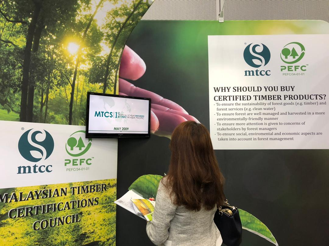 MTCC PROMOTES CERTIFIED TIMBER FOR GREEN ECONOMY AT IGEM 2018